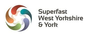 Superfast West Yorkshire and York logo